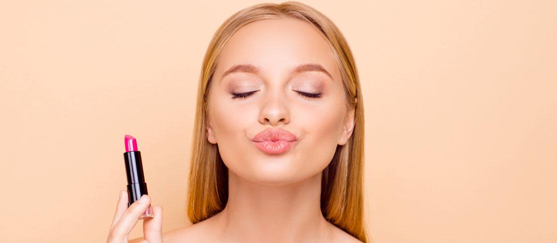 Forma delle labbra e make up
