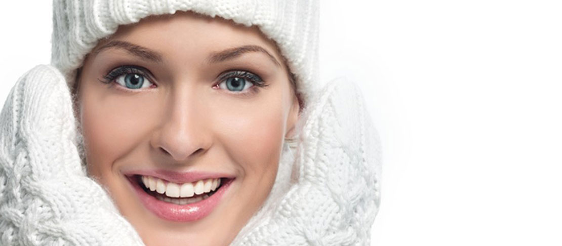 In inverno pelle protetta in pochi gesti