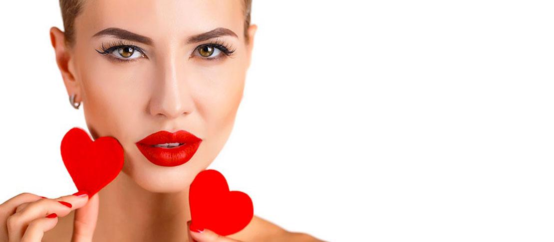 San Valentino: la regola è il rosso