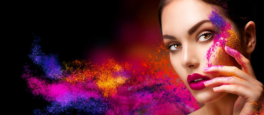 Come utilizzare la teoria dei colori nel make up
